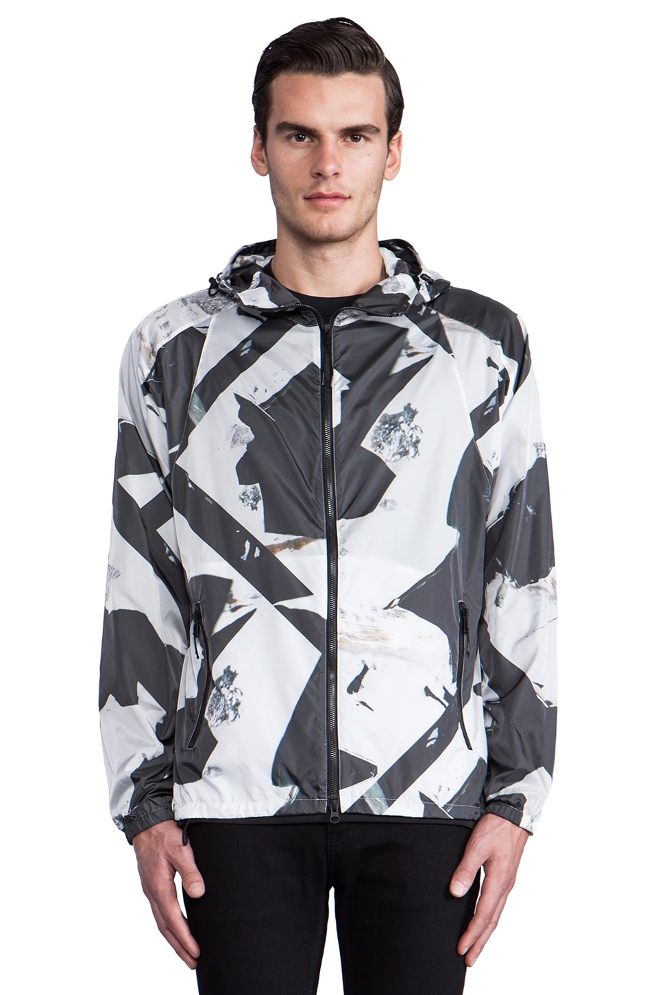 Theory 38 STRIKT B Windbreaker in Multi