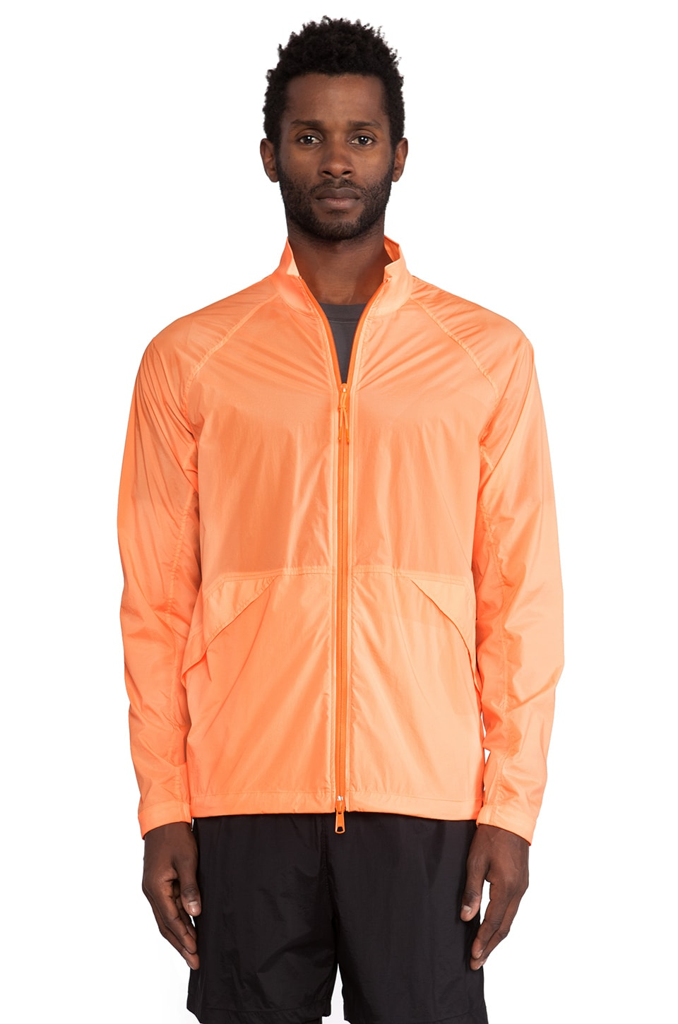 Theory 38 Ziptor Windbreaker in Neon
