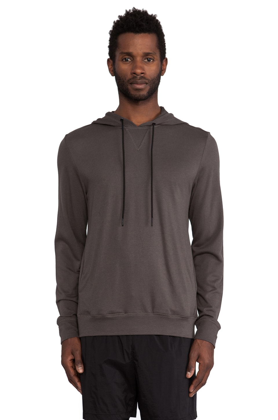 Theory 38 Treck Hoodie in Bottle
