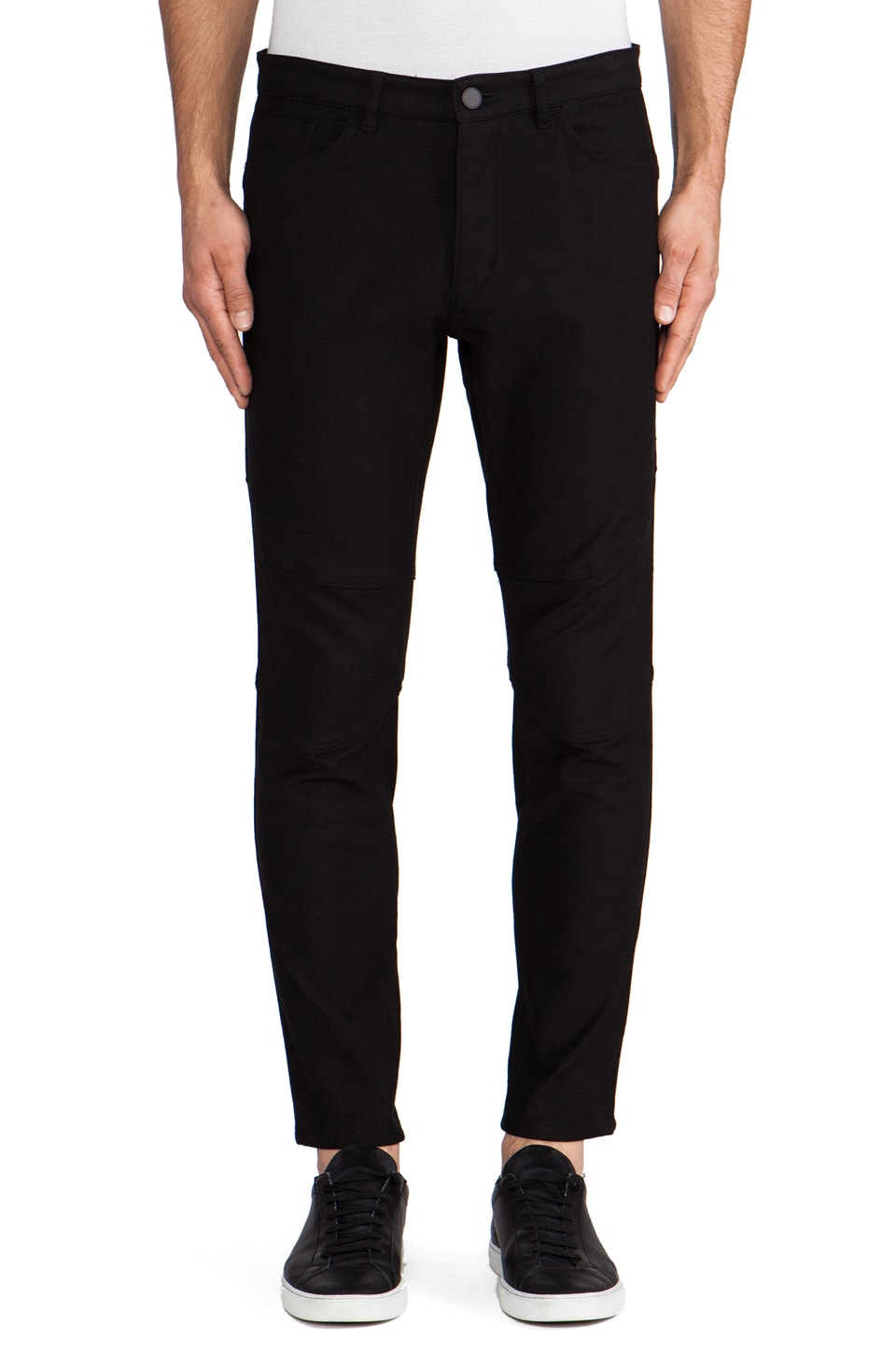 Theory 38 Grihp Drawstring Trouser in Black