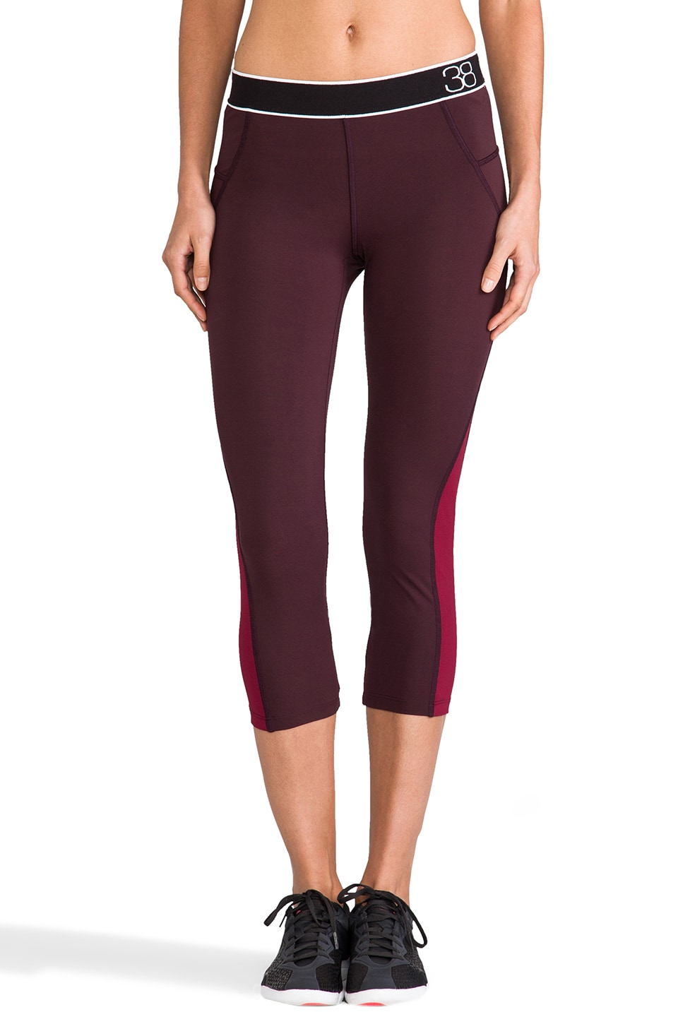 Theory 38 Podium Dust Pant in Viper