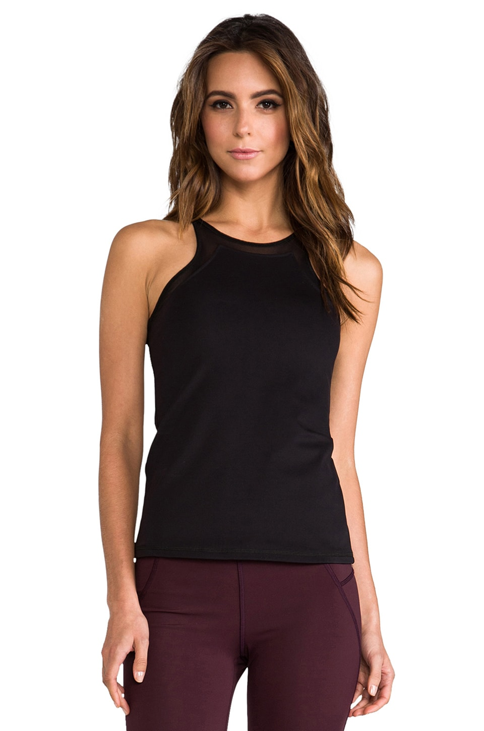 Theory 38 Podium Leen T Tank in Black