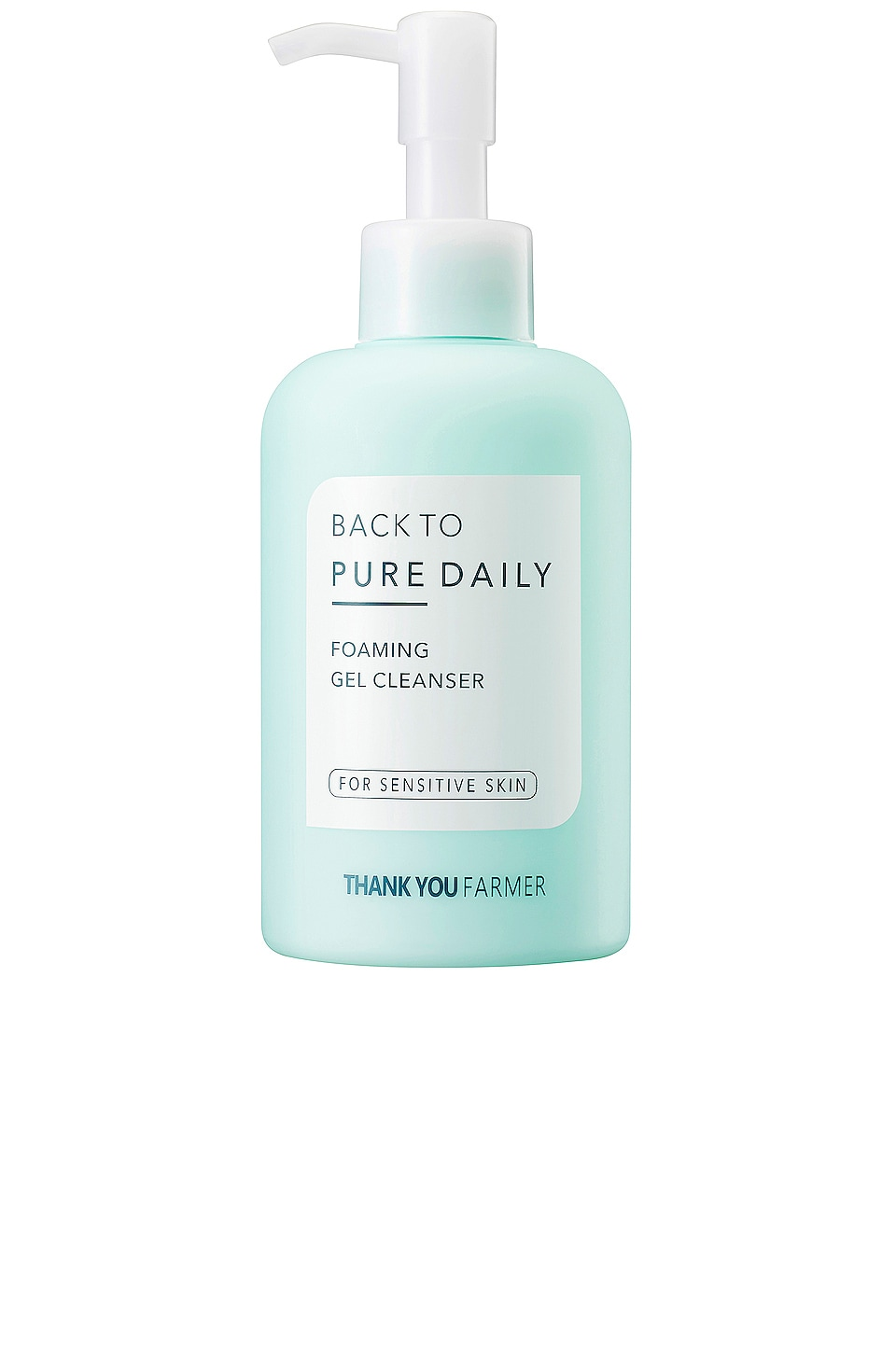 THANK YOU FARMER Back To Pure Daily Foaming Gel Cleanser in Beauty: Na