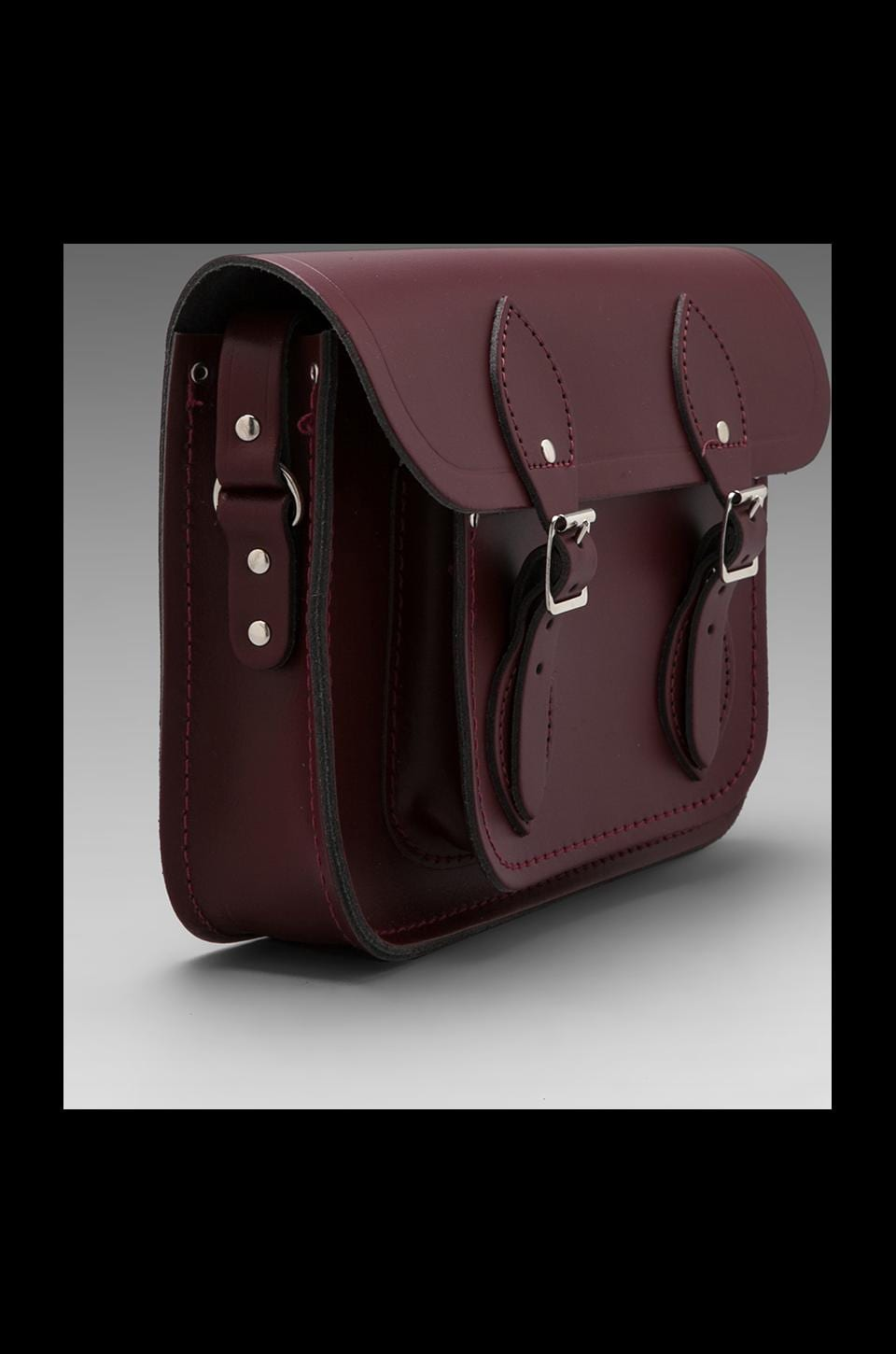 "The Cambridge Satchel Company Core Collection Mini 11"" Satchel in Oxblood"
