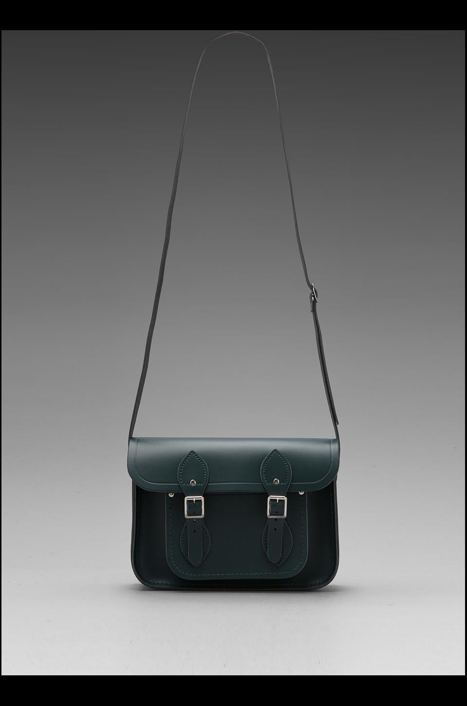 "The Cambridge Satchel Company Core Collection Mini 11"" Satchel in Dark Green"
