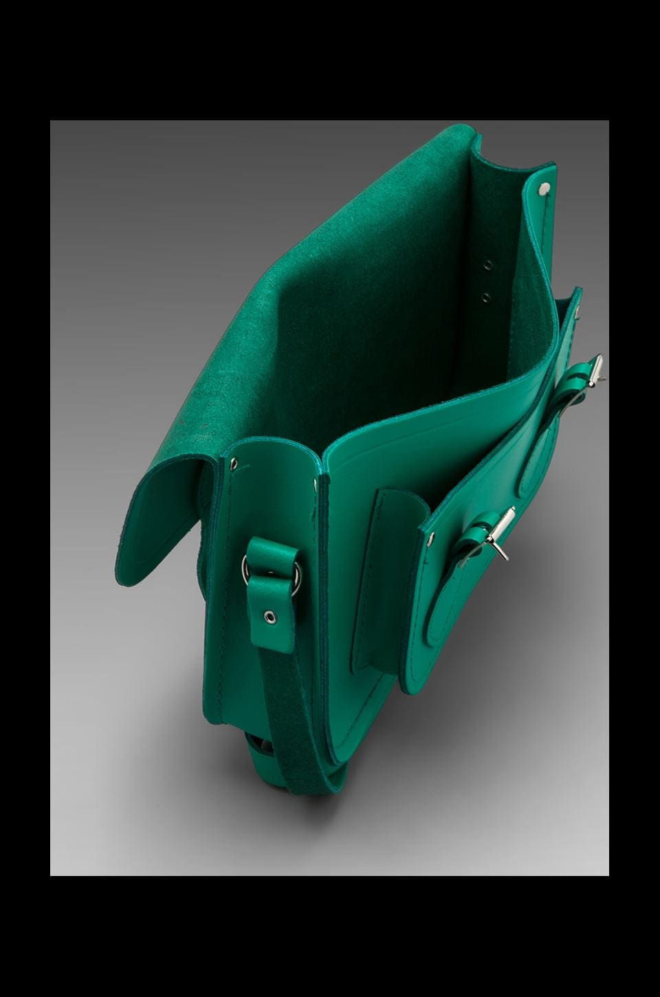 "The Cambridge Satchel Company Core Collection Mini 11"" Satchel in Emerald"