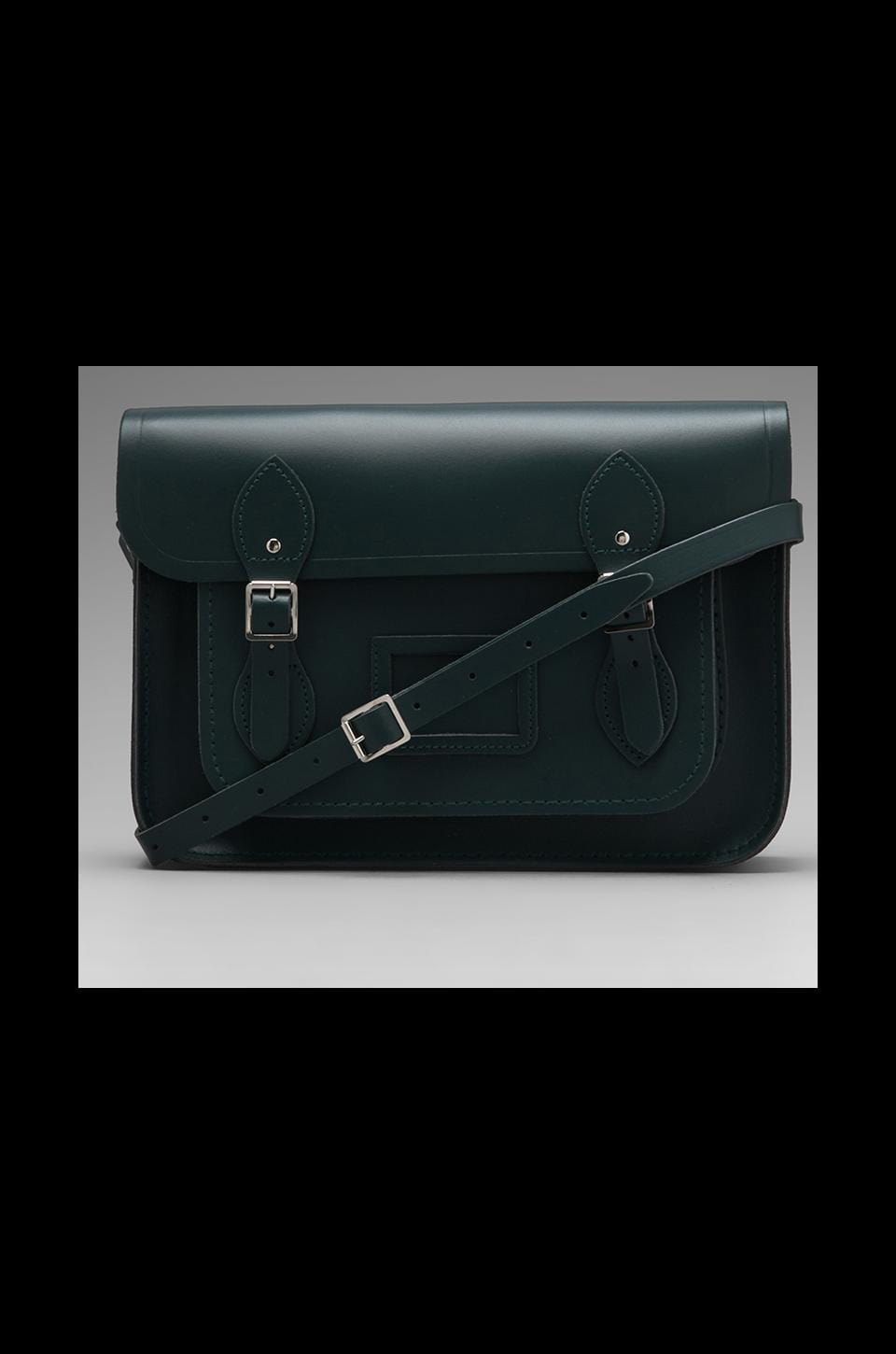 The Cambridge Satchel Company Core Collection 13'' Satchel in Dark Green