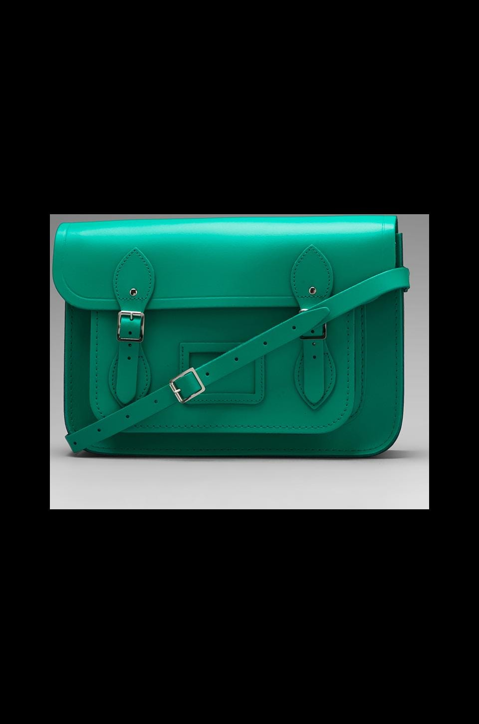 The Cambridge Satchel Company Core Collection 13'' Satchel in Emerald