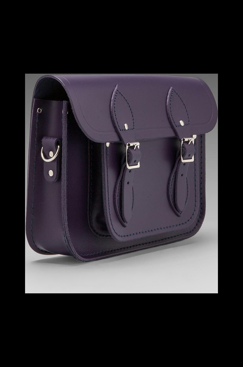 "The Cambridge Satchel Company Detachable Short/Long Strap Satchel 11"" in Gothic"