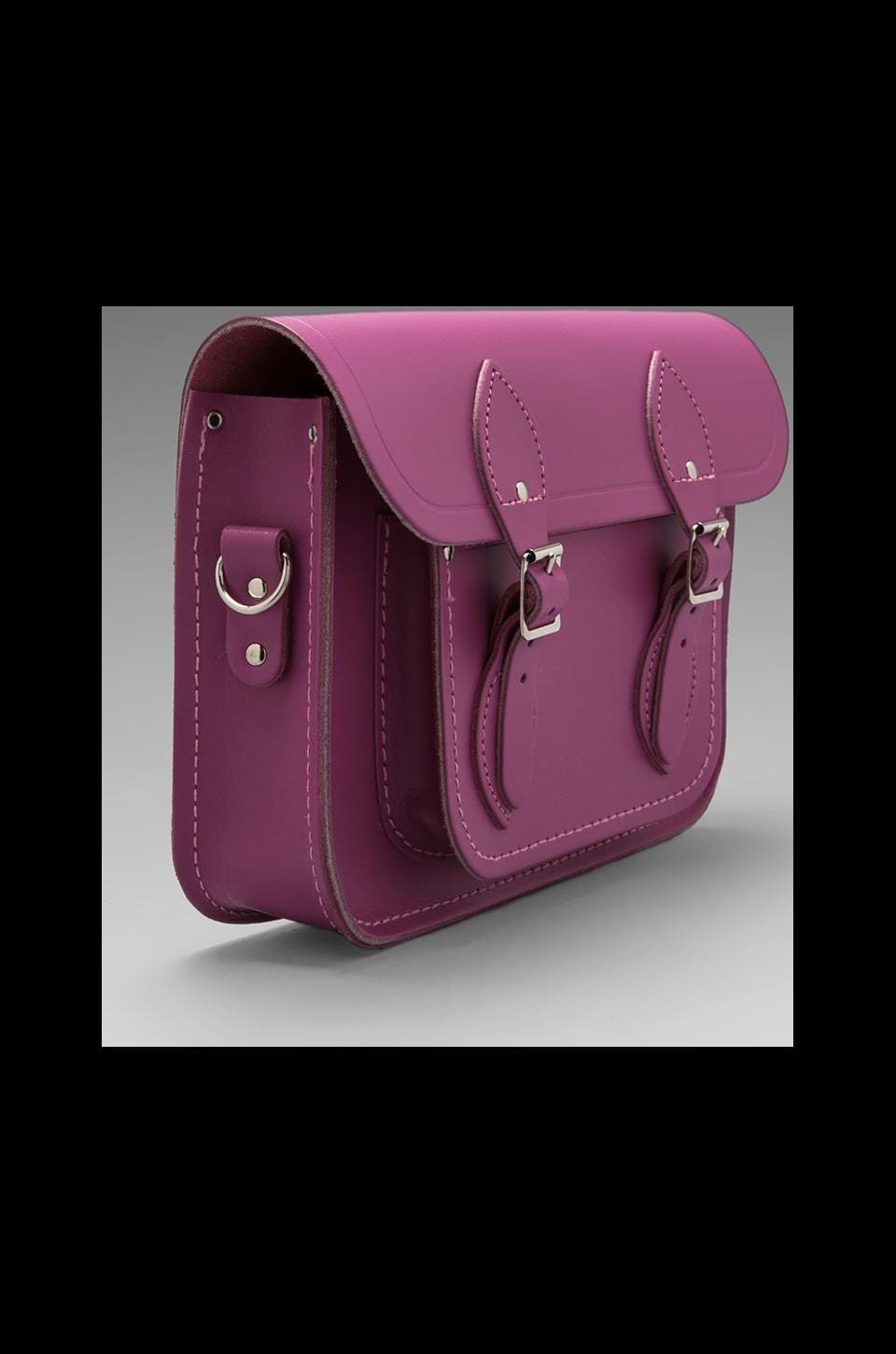 "The Cambridge Satchel Company Detachable Short/Long Strap Satchel 11"" in Dahlia"