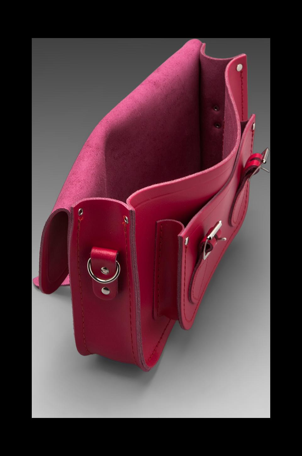 "The Cambridge Satchel Company Detachable Short/Long Strap Satchel 11"" in Raspberry"