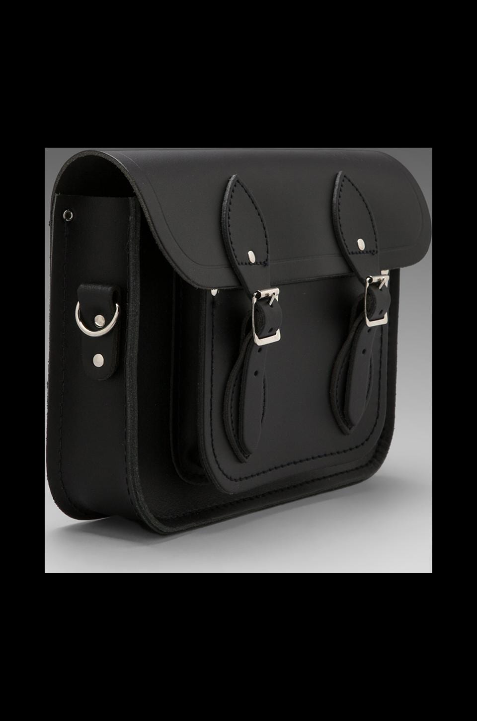 "The Cambridge Satchel Company Detachable Short/Long Strap Satchel 11"" in in Black"