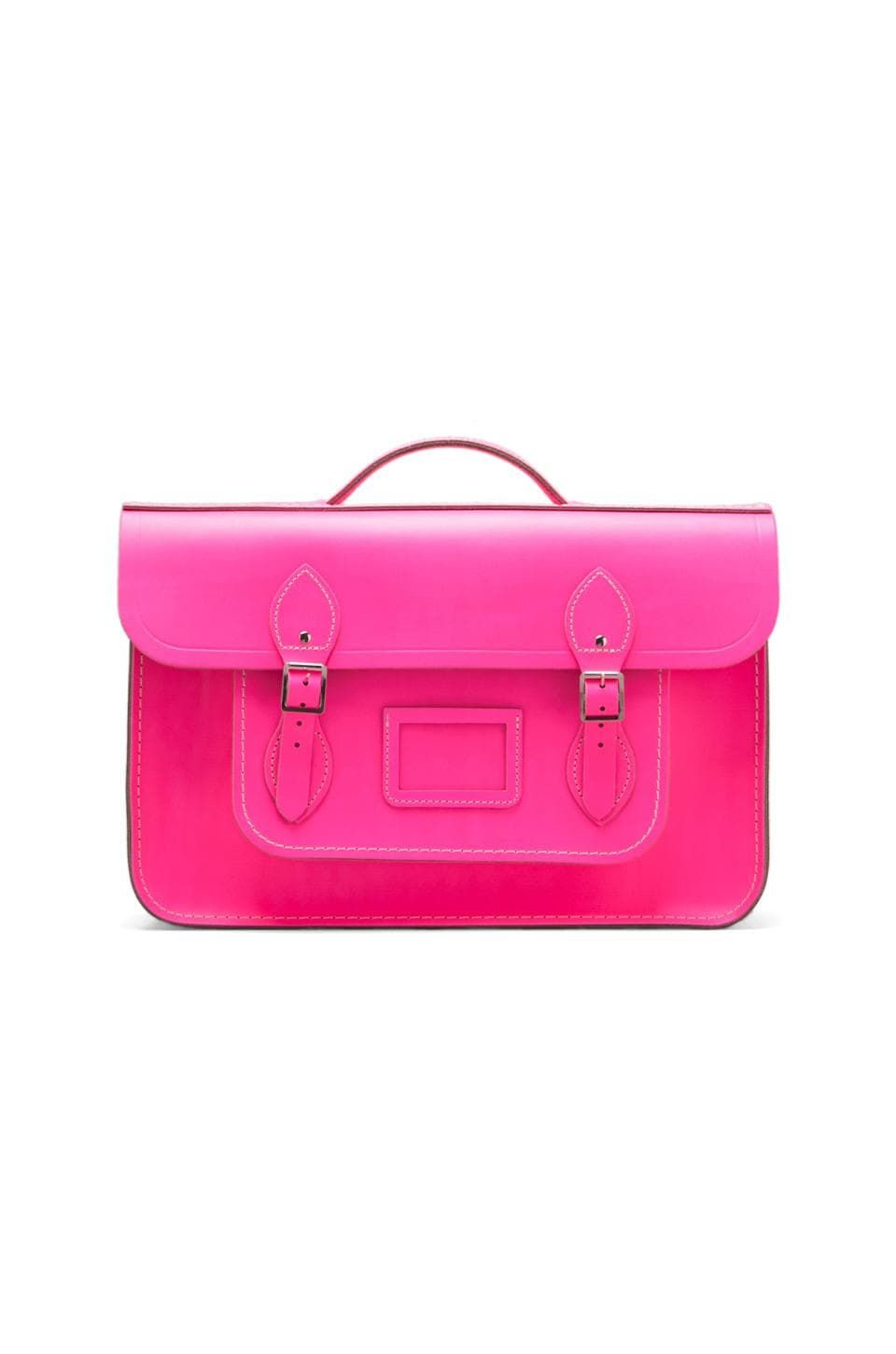 The Cambridge Satchel Company Batchel Backpack in Fluoro Pink