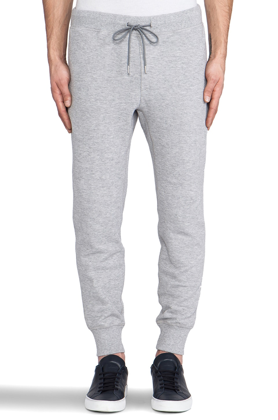Theory Moris Sweatpant in Grey Heather