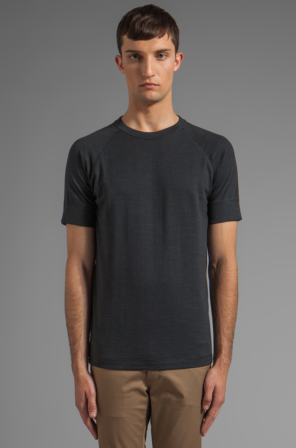 Theory Mikkel RC Tee in Submerge OD