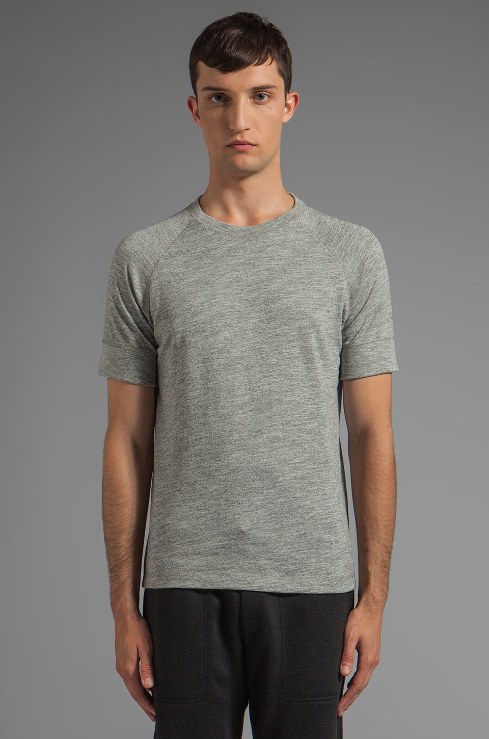 Theory Mikkel RC Tee in Grey Heather