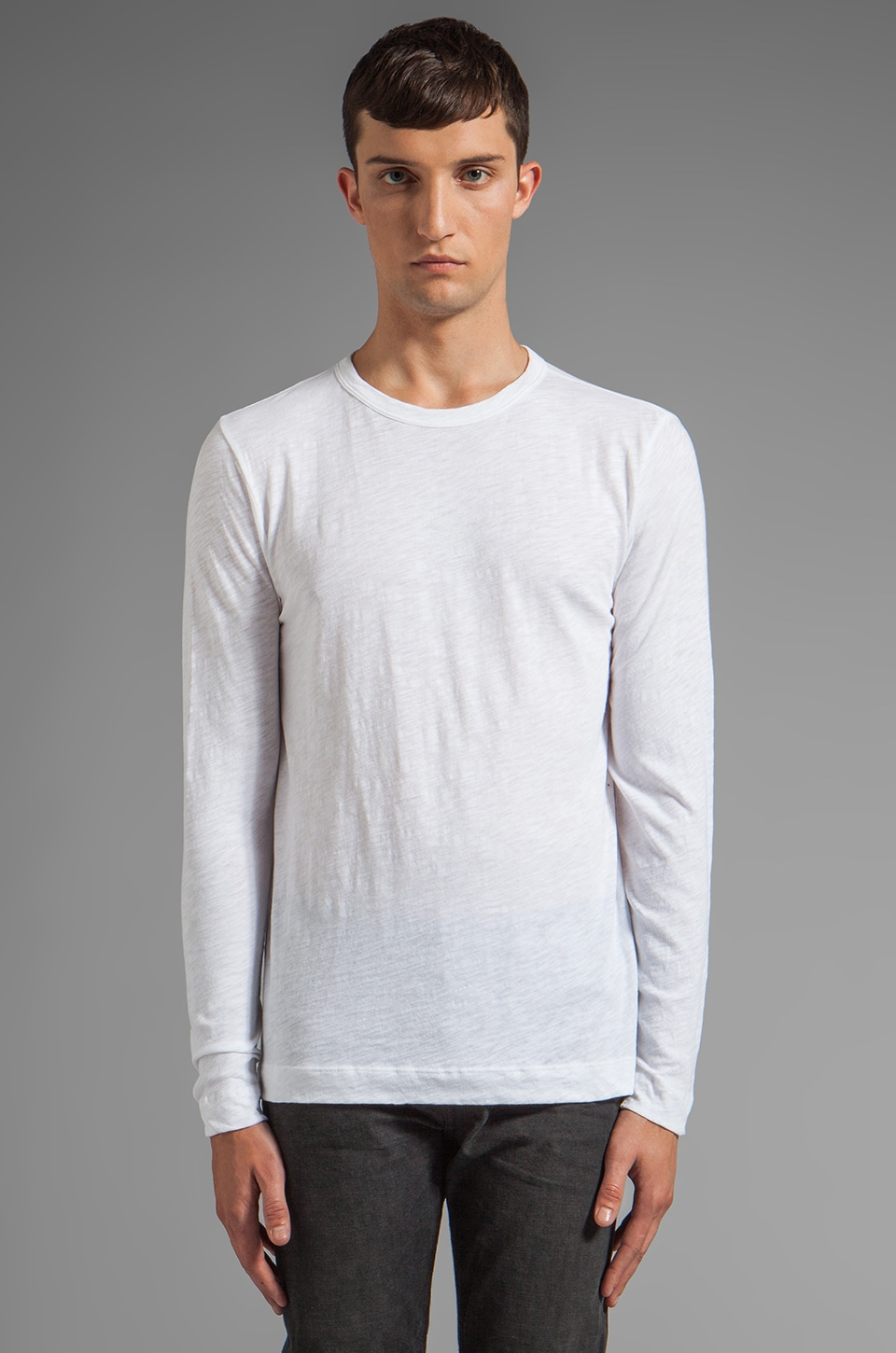 Theory Gaskell NL Tee in White