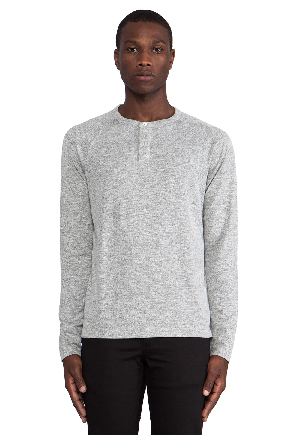 Theory Jordun Henley in Grey/ Multi