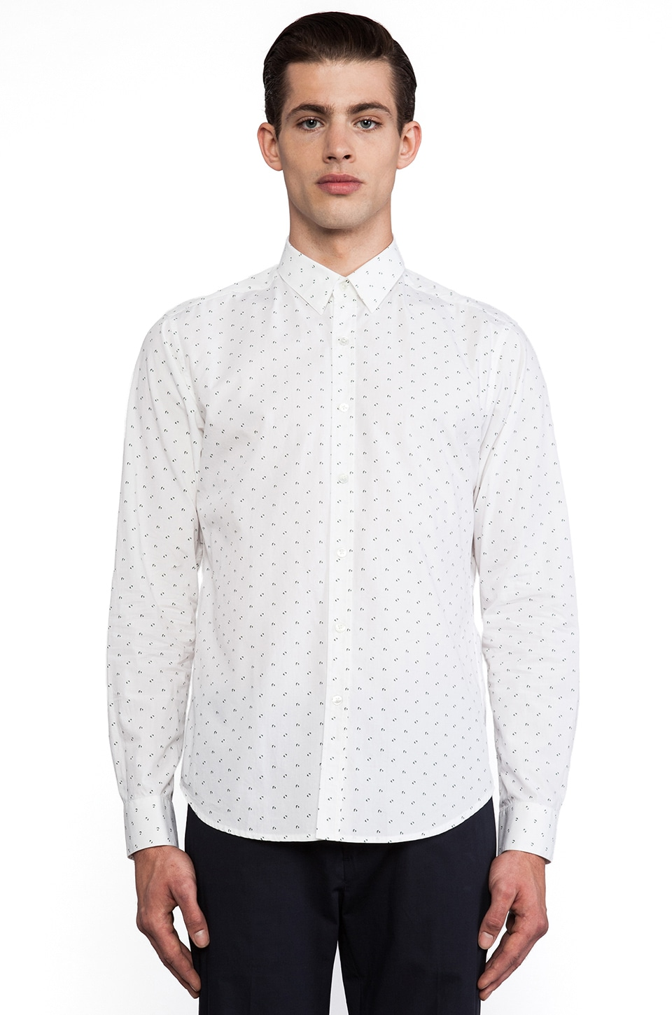 Theory Zack Button Down in Otago Multi