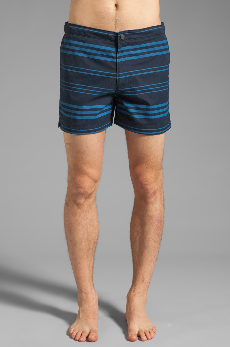 Theory Kahana Kosmor ST Short in Eclipse Stripe
