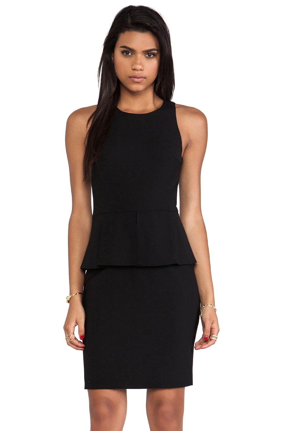 Theory Fefe Dress in Black