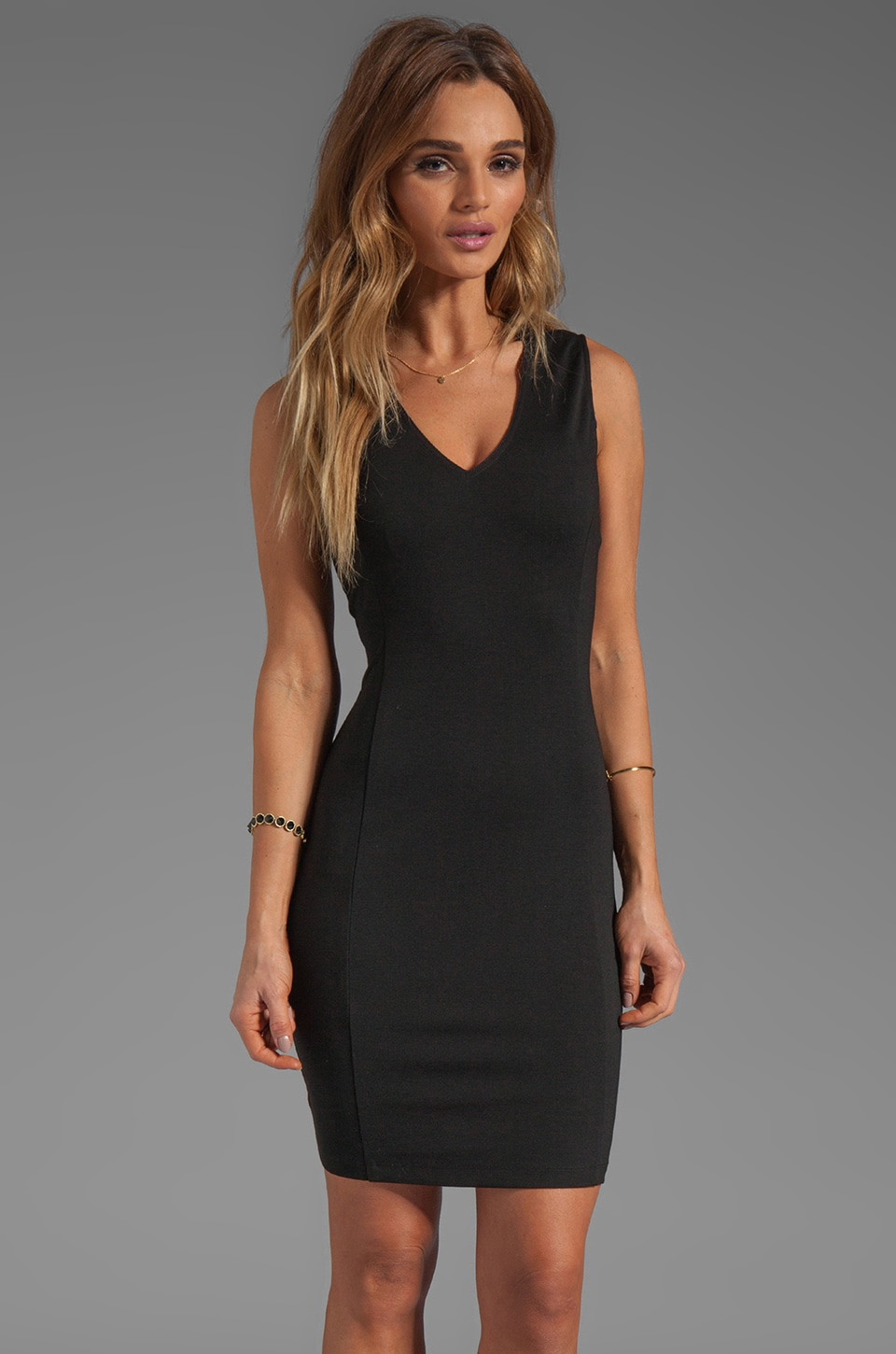 Theory Adoxa dress in Black