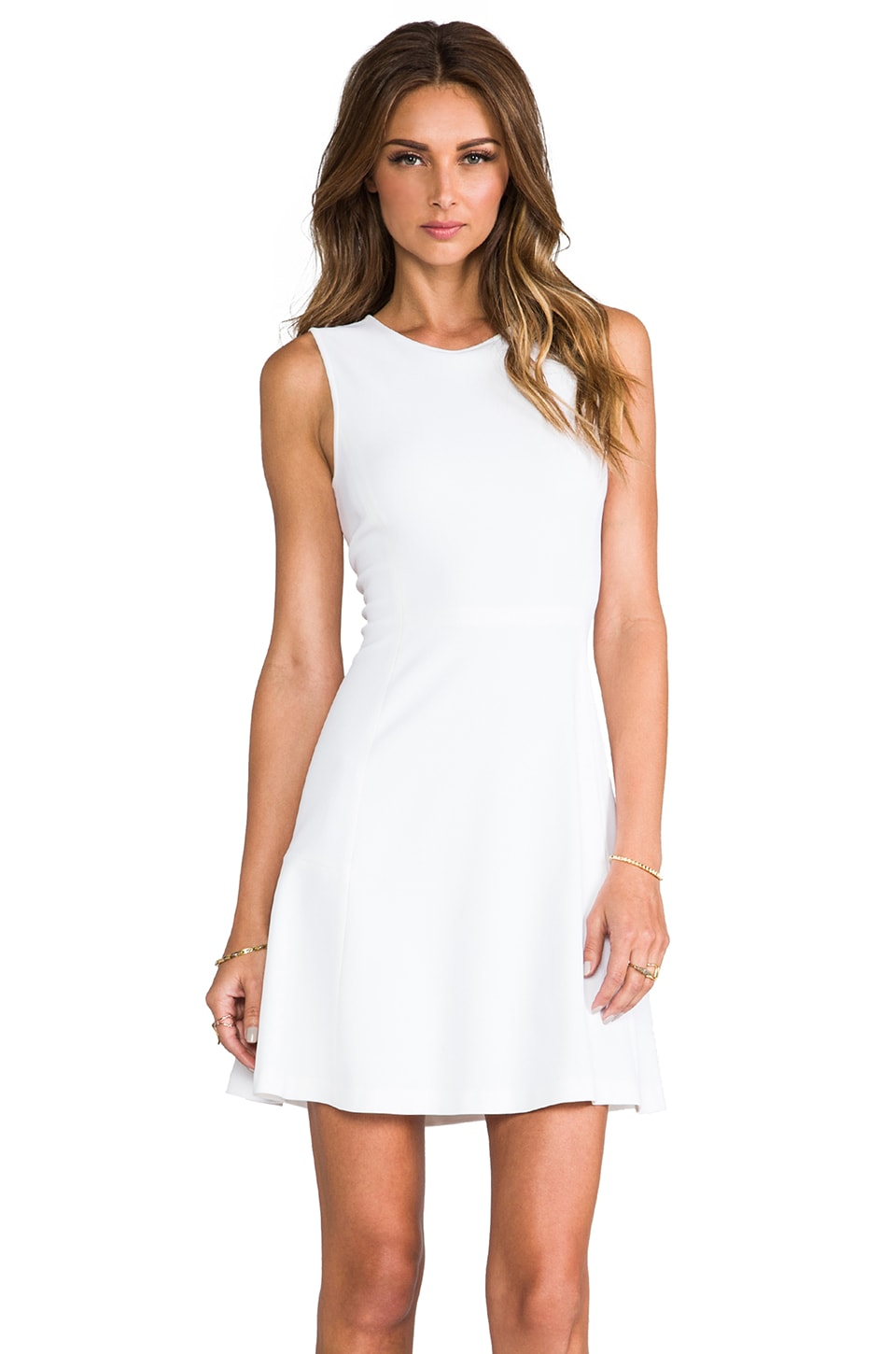 Theory Listing Nikay Dress in White