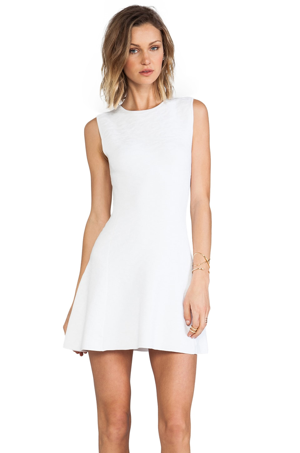 Theory Nikayla Dress in White