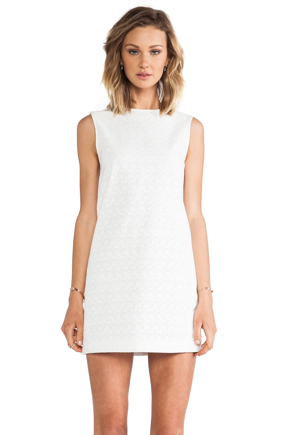 Theory Adraya Dress in White