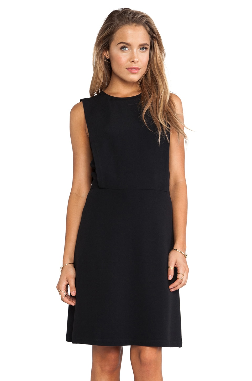 Theory Rimlan Dress in Black