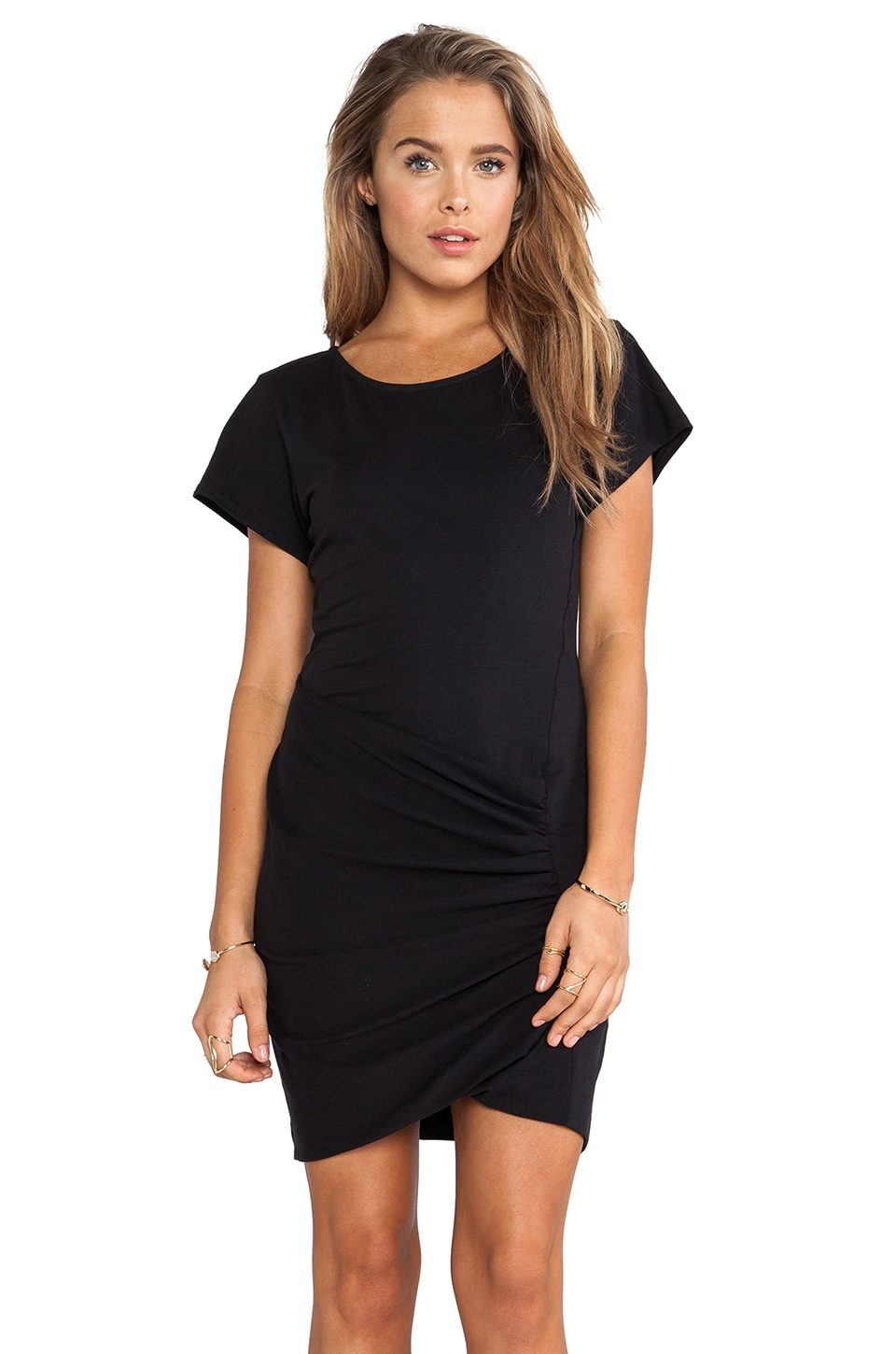 Theory Sunly Dress in Black