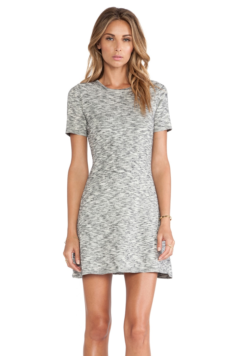 Theory Abreena Dress in Ivory Space