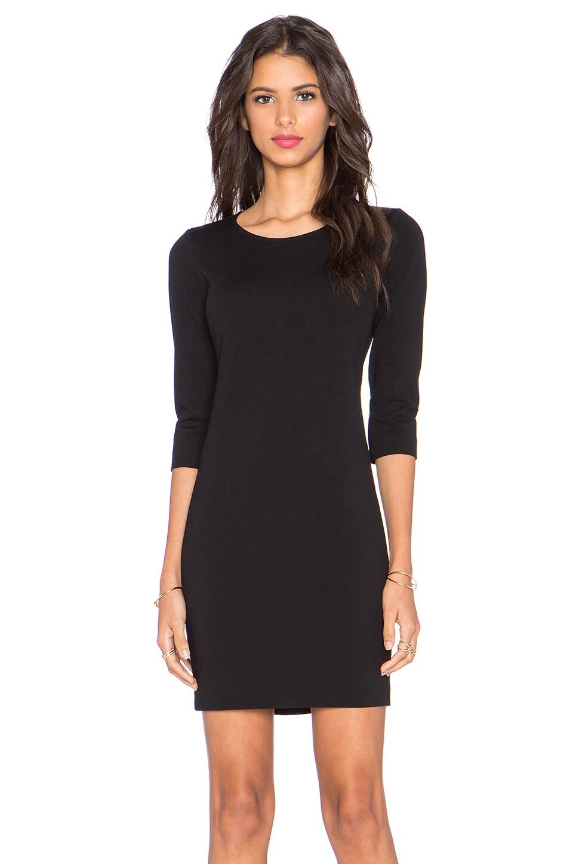 Theory Mini Shift K Dress in Black