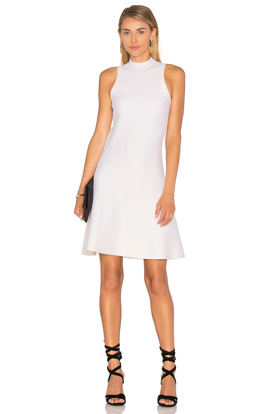Theory Ineeta Sweater Dress in Ivory