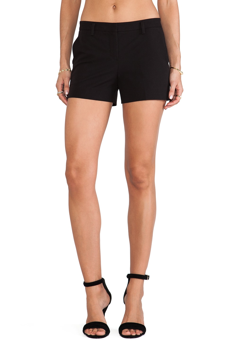 Theory Kasim Short in Black