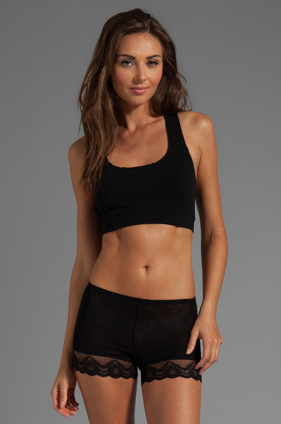 Theory Adenna Sports Bra in Black