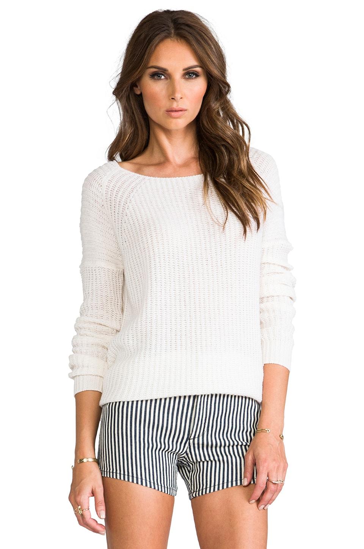 Theory Cashmere Mazalin Sweater in Ivory