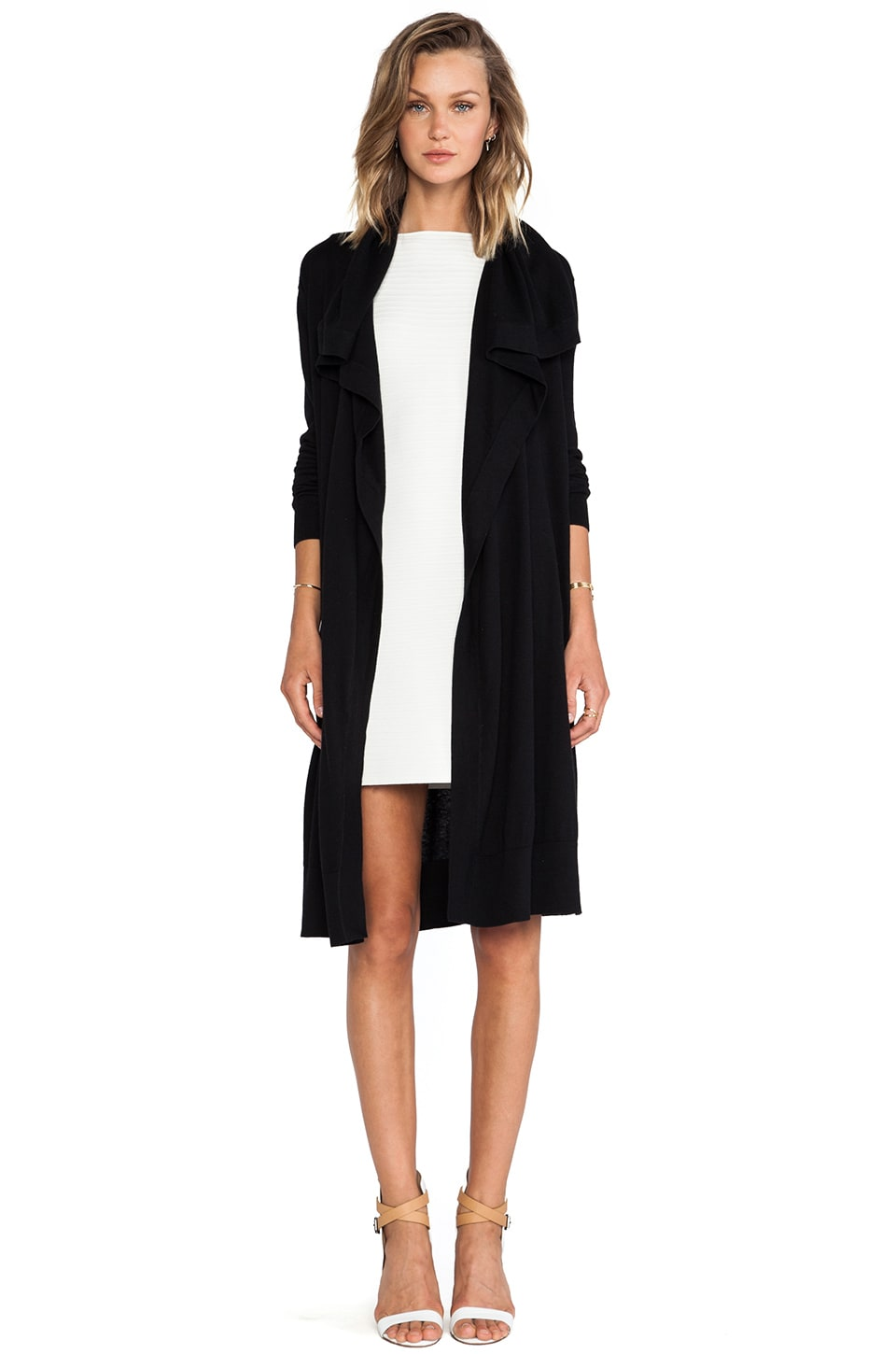 Theory Casterly Cardigan in Black