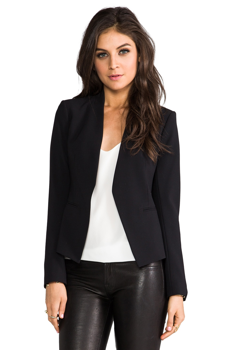 Theory Lanai Blazer in Black