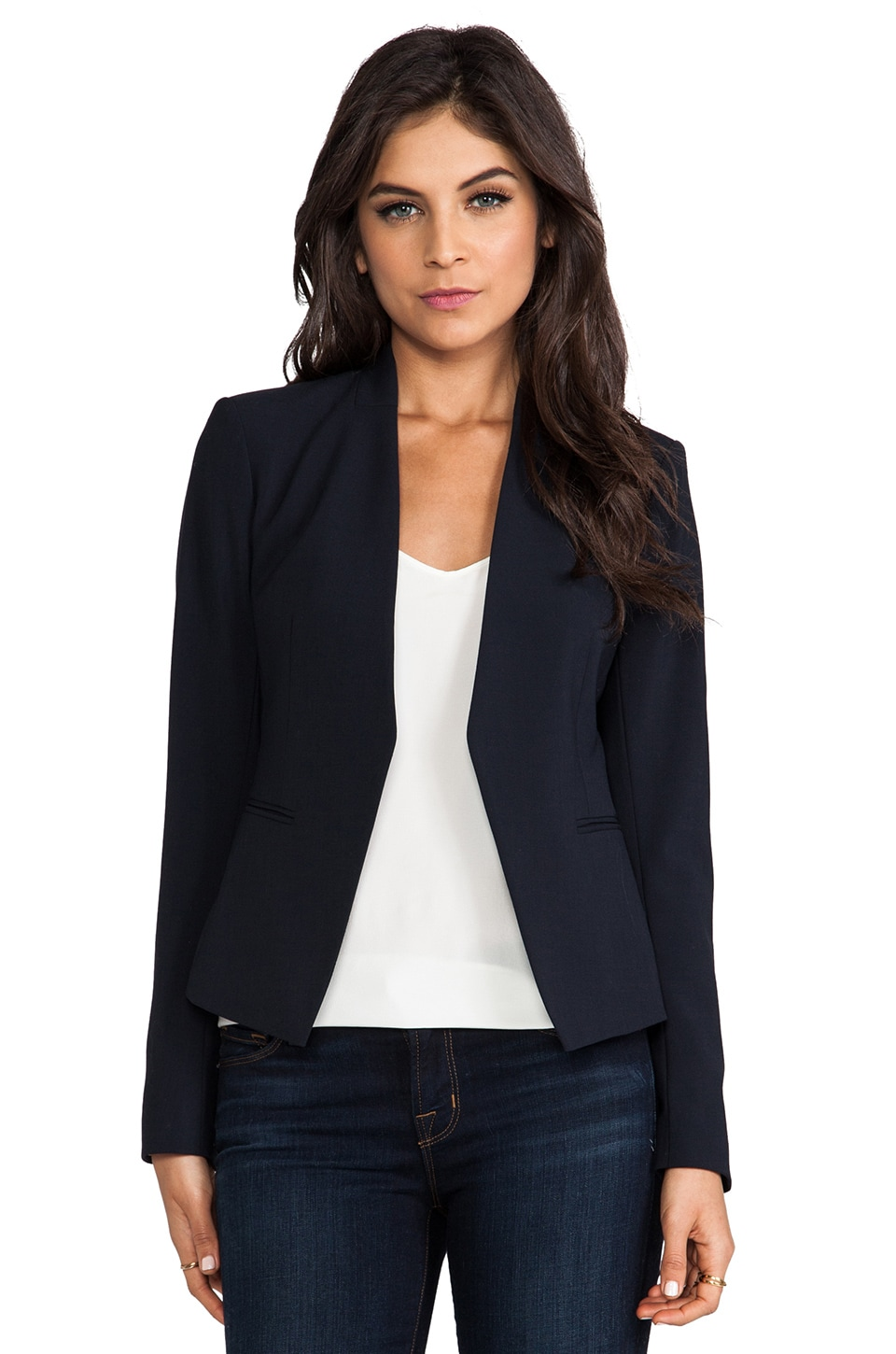 Theory Lanai Blazer in Navy