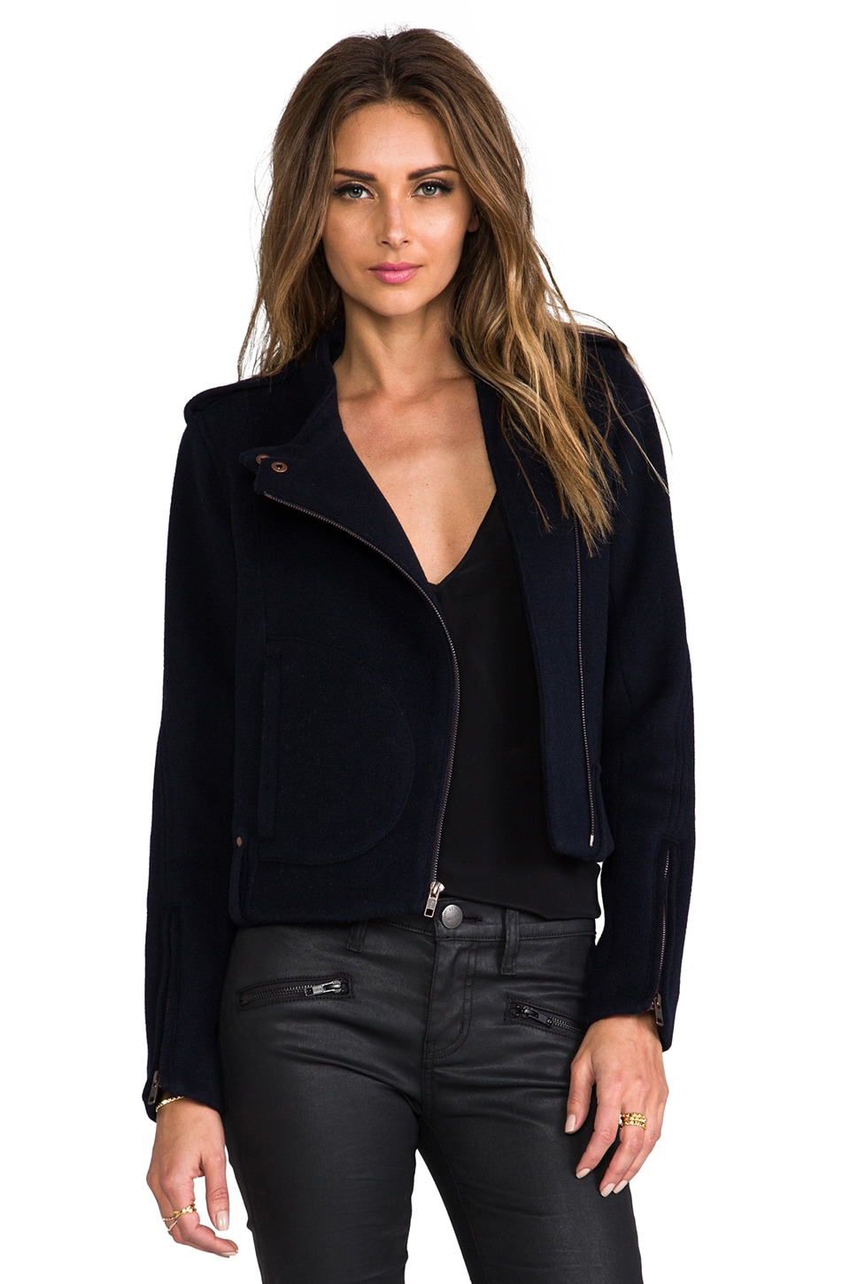 Theory Furl Katiana Jacket in Uniform