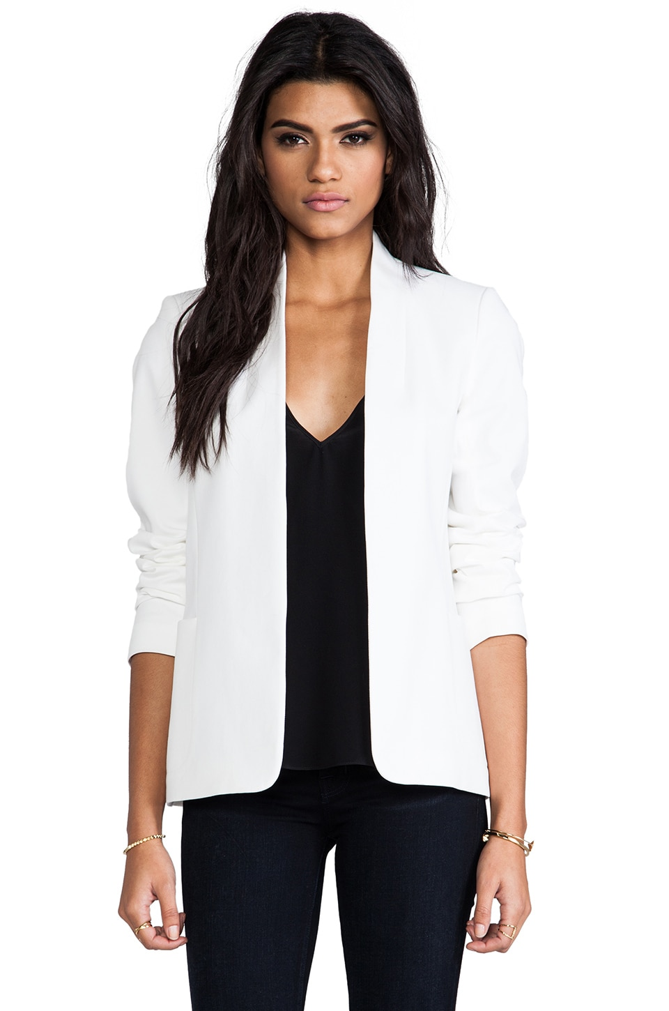 Theory Checklist Kacela Jacket in White