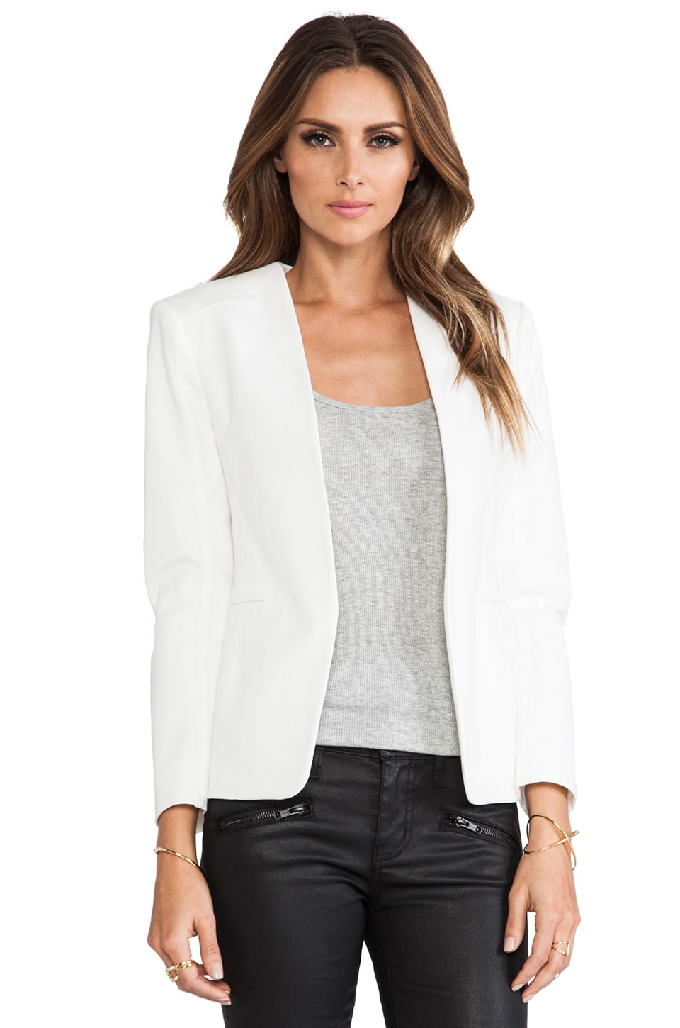 Theory Tadean Blazer in White