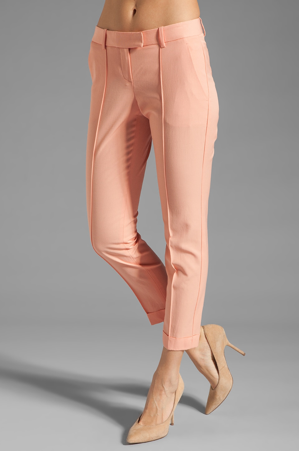 Theory Marsienna T Pant in Melon