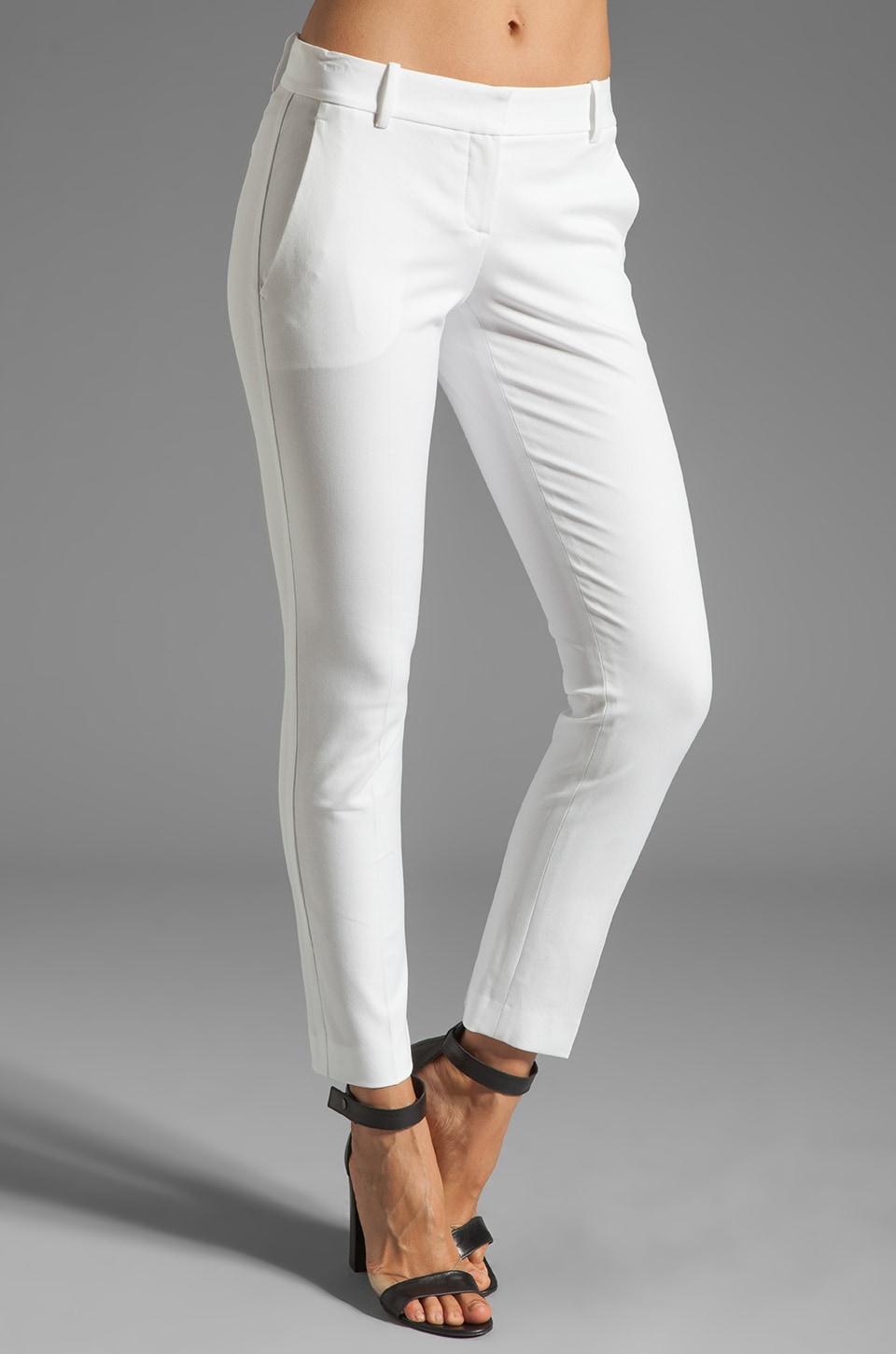 Theory Testra Bistretch 2 Twill Pants in White