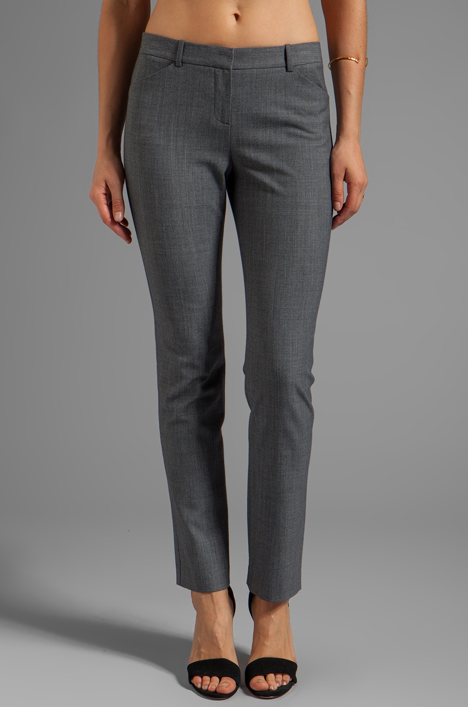 Theory Taye Pant in Charcoal