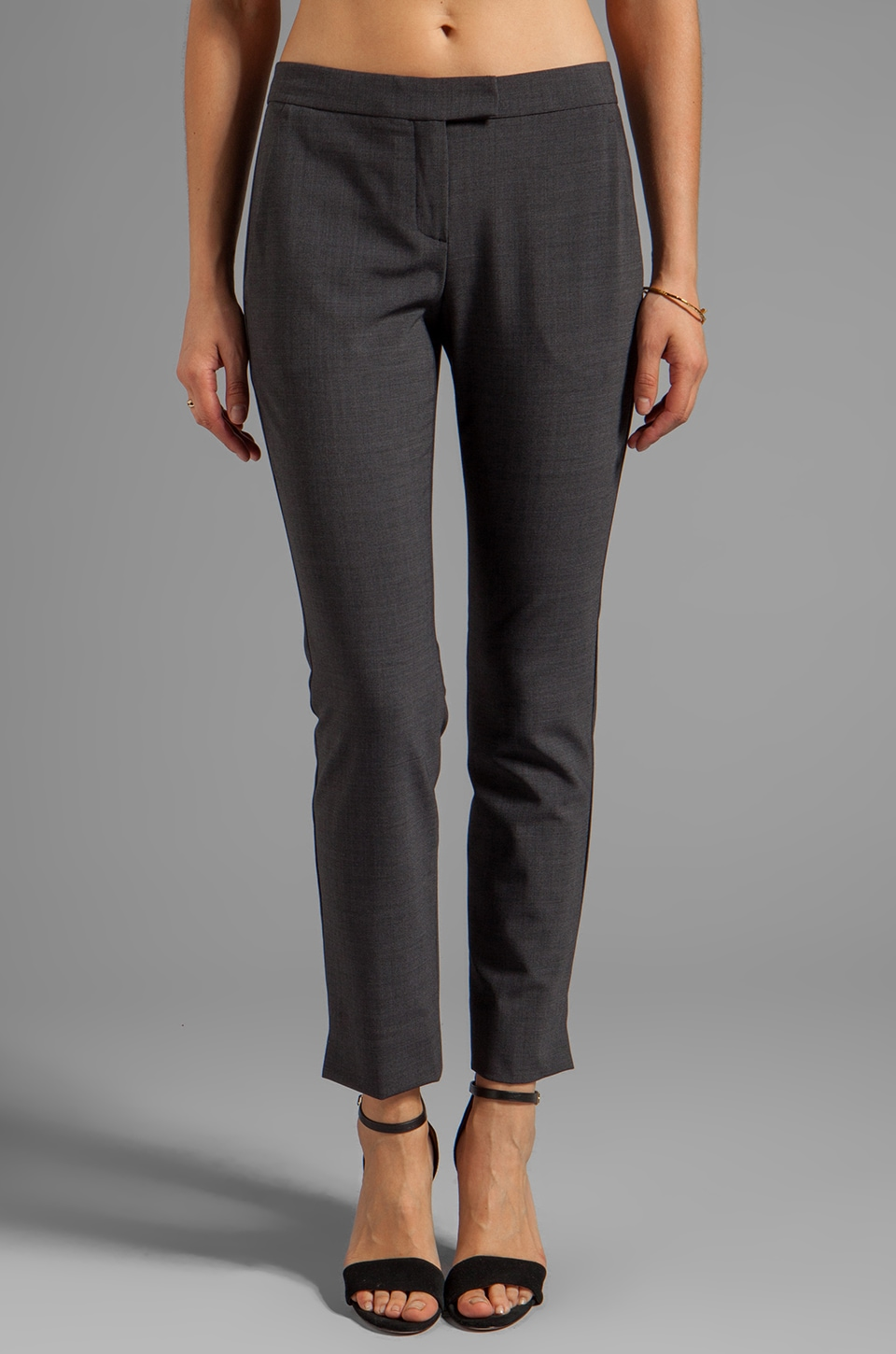 Theory Ibbey 2 Skinny Trouser in Charcoal