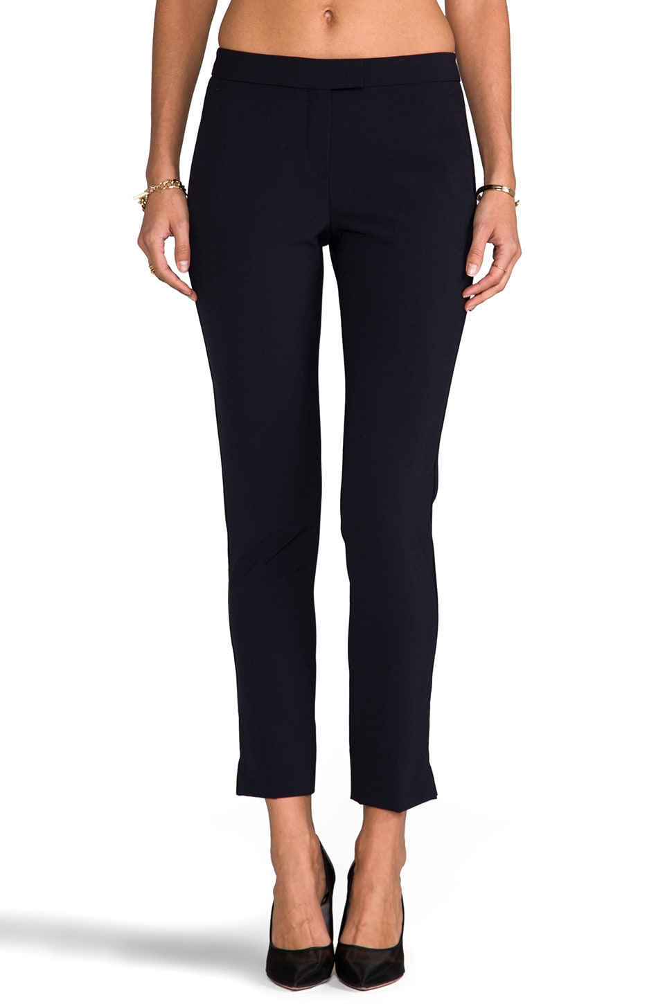 Theory Ibbey 2 Skinny Trouser in Navy