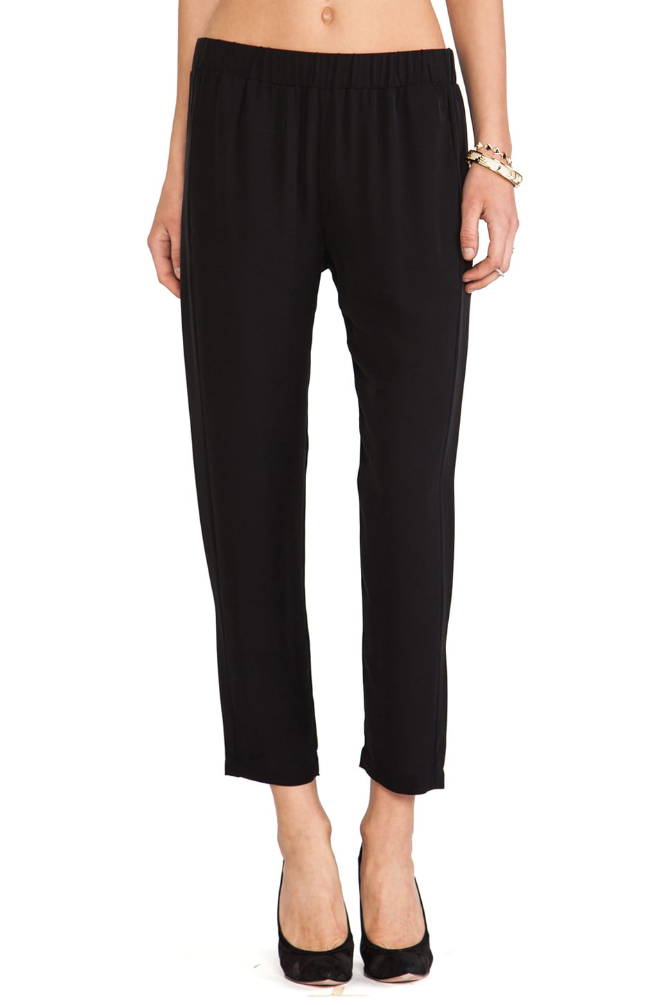 Theory Korene Pant in Black