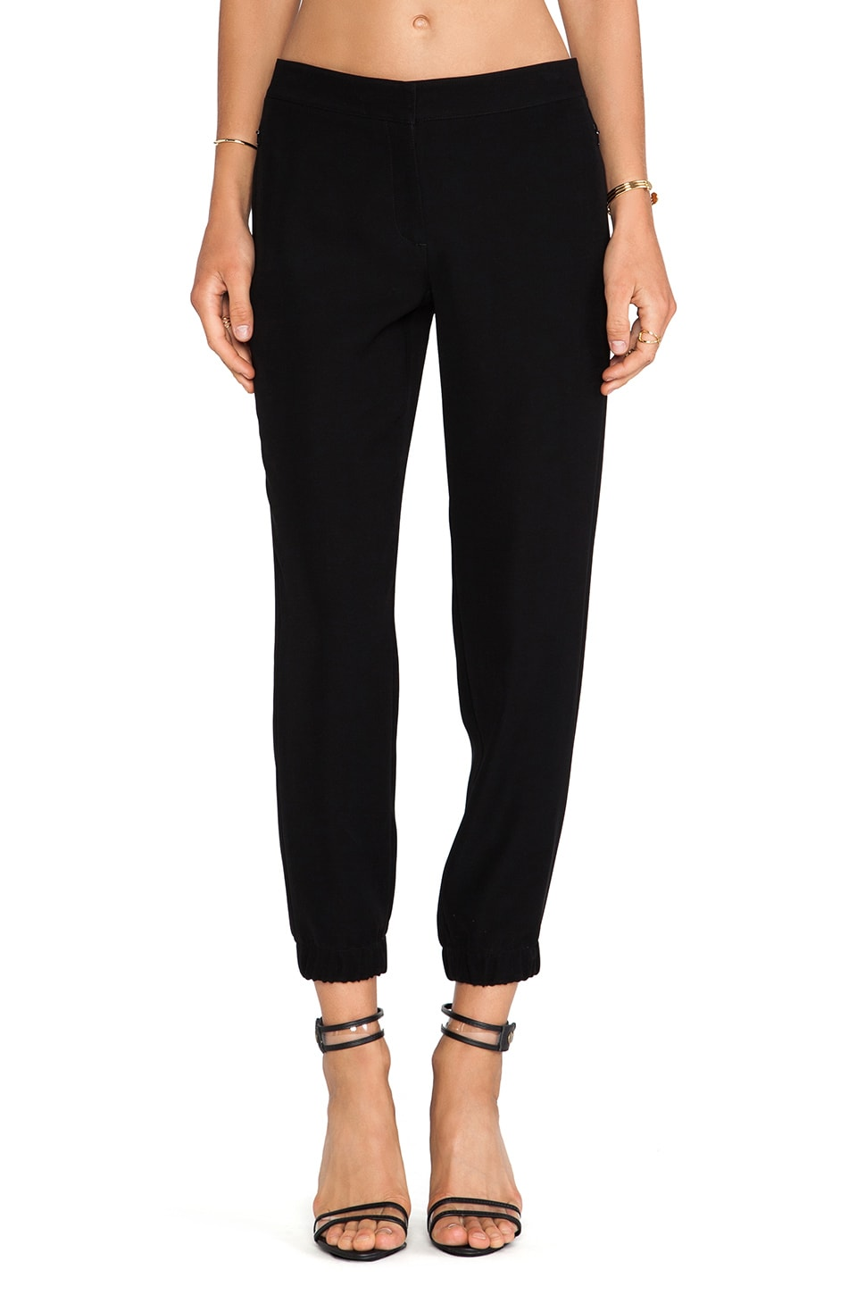 Theory Gavran Pant in Black